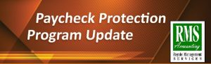 Payroll Protection Loan Update Banner